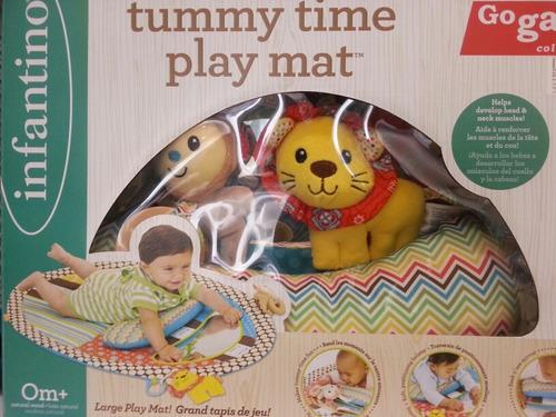 alfombra tapete de juegos para bebe go gaga c/ espejo almoha