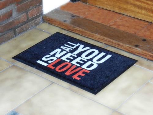 alfombra / tapete / felpudos de entrada. diseños exclusivos