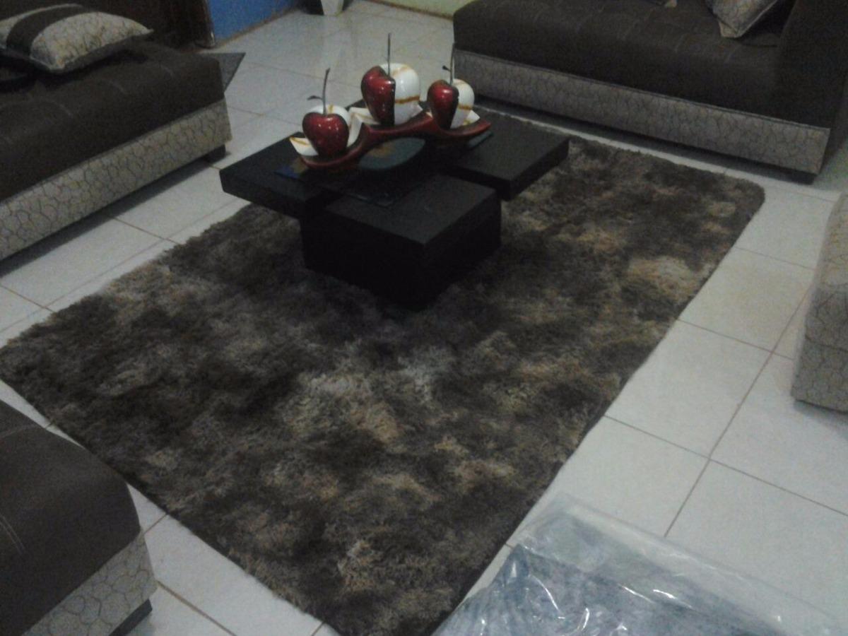 Alfombra tapete para sala comedor dormitorio pelo alto u for Alfombra costo