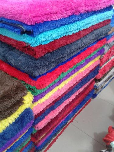 alfombra tapete peluda 2.00 x 2.40 alto rendimiento
