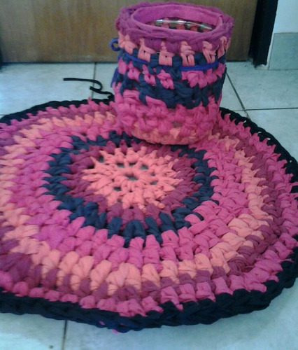alfombra totora