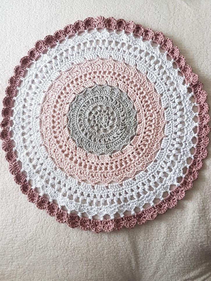 Alfombra Trapillo Crochét - $ 45.000 en Mercado Libre