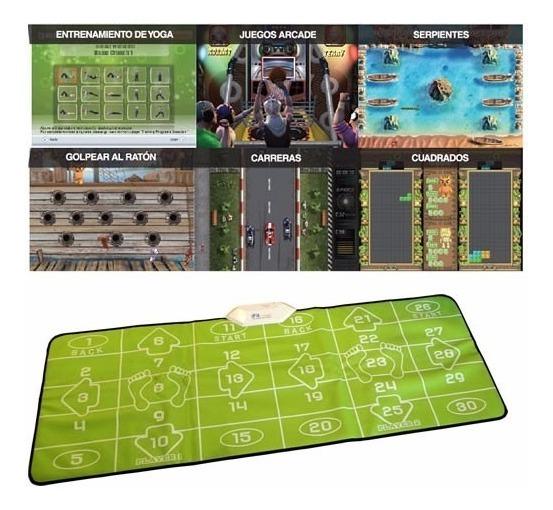 Alfombra Yoga Consola Ejercicios Ifit 80 Juegos Megasaldos