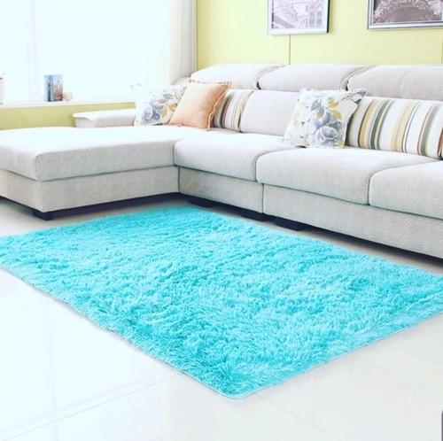 alfombras   2.00 x 2.40 colores variados peludos