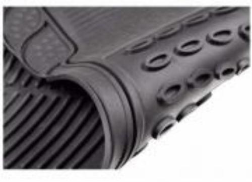 alfombras de goma universales para carro 3 piezas marca zega