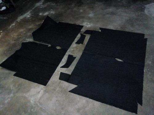 alfombras de piso para renault 18 en boucle.