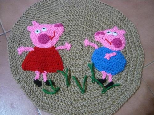 Alfombras en crochet para decorar espacios de ni os - Alfombras para ninos ...