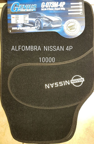 alfombras fiat nissan pick-up