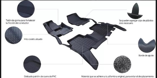 alfombras hilux ( no weather tech )