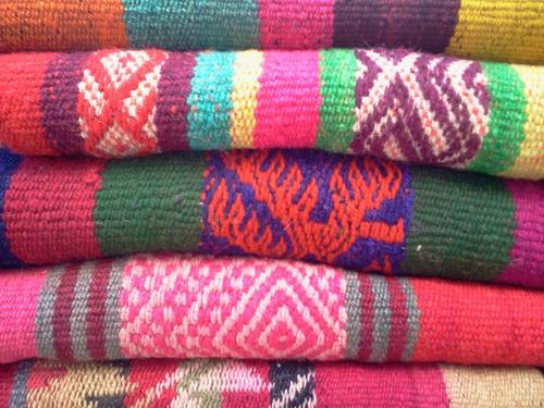 alfombras mantas norteñas con guardas hermosas