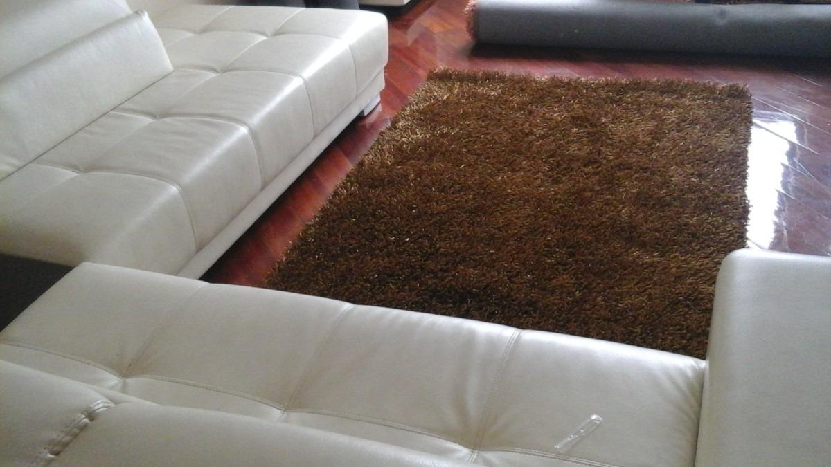 Alfombras modernas lana abultada alto pelaje u s 180 00 - Alfombras lana modernas ...