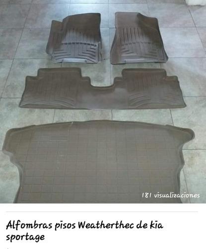 alfombras o pisos weatherthc de kia sportage usadas