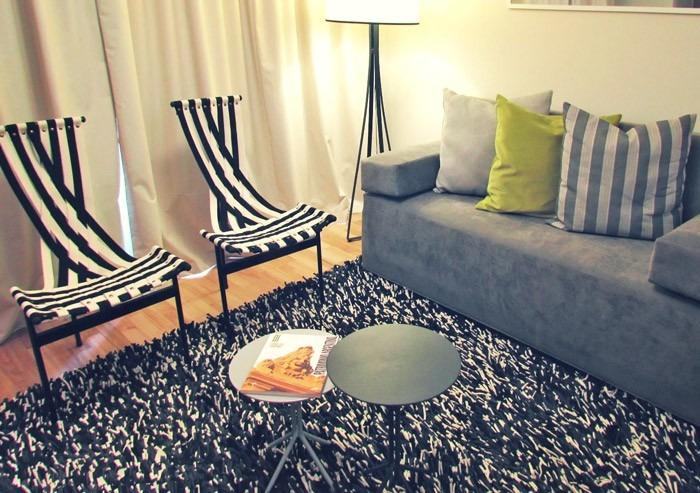 alfombras para living punto trama