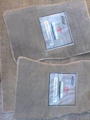 alfombras para toyota fortunner