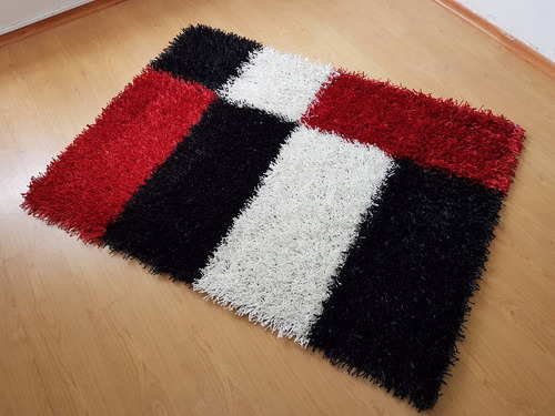 alfombras pelo alto decorativas sala comedor modernas nuevas