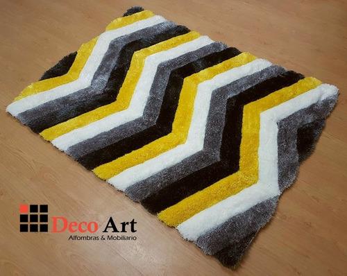 alfombras pelo alto decorativas sala comedor nuevas 3d