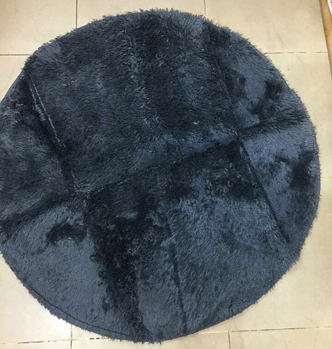alfombras peluche redondas
