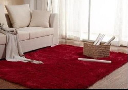 alfombras peludas