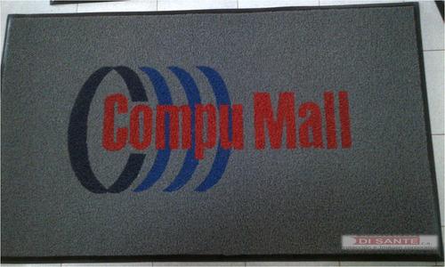 alfombras publicitarias con sistema atrapamugre
