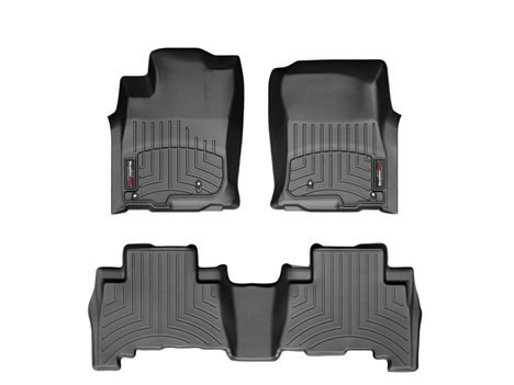 alfombras weathertech para toyota hilux 2012 - 2015