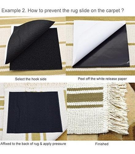 alfombras yorwe anclas tamaño mas grande y mas fuerte alfom