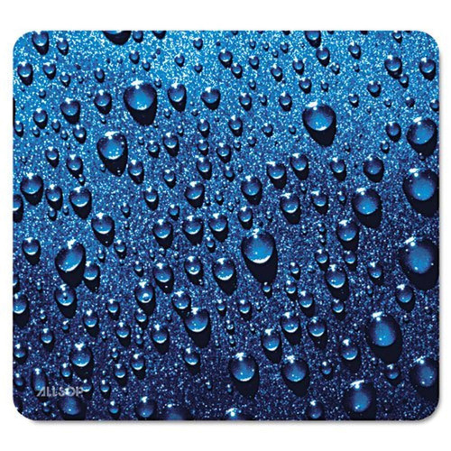 alfombrilla de ratón allsop, gota agua - azul  30182