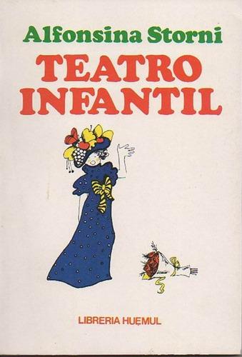 alfonsina storni teatro infantil ilustra julia diaz - 1977