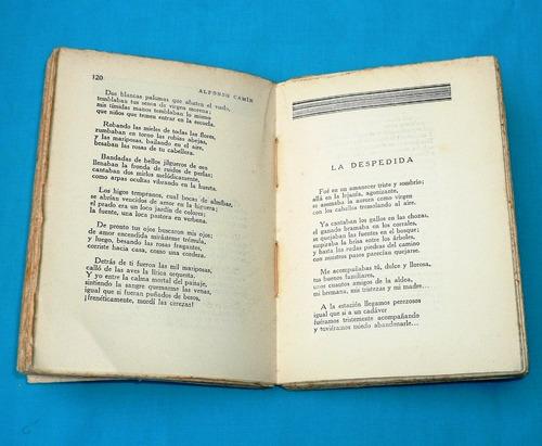alfonso camin antología poética renacimiento 1931 poemas