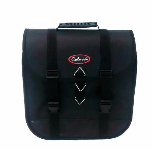 alforge baú de moto 30l + capas à pronta entrega
