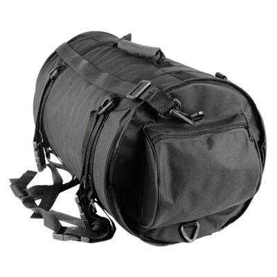 alforge bolsa traseira moto big trail (roll bag) nylon 26 l.