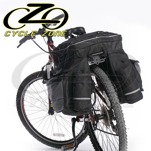 6346184f0 Alforge + Capa Chuva 56l Poliéster Impermeável Bike Ciclismo - R ...