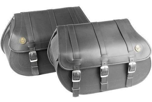 alforge lateral custom 40 litros em couro sintético liso