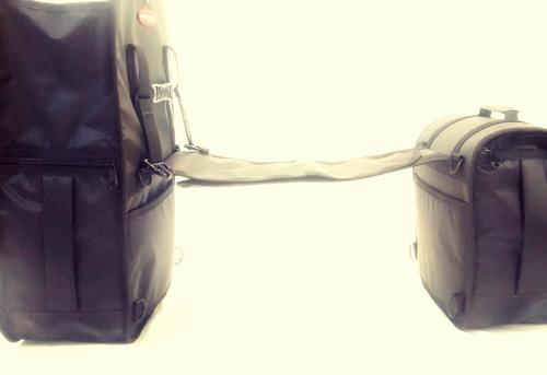 alforge mala de moto 30l + capas à pronta entrega