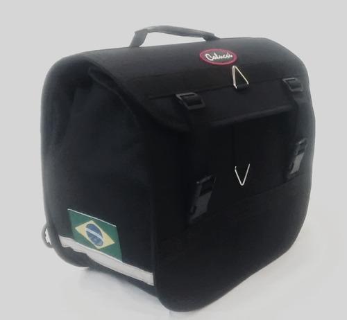 alforge mala moto yamaha 20 litros +capas
