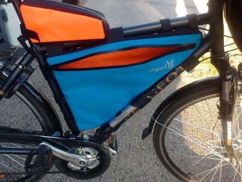 alforja a medida para cuando bikepacking cicloturismo