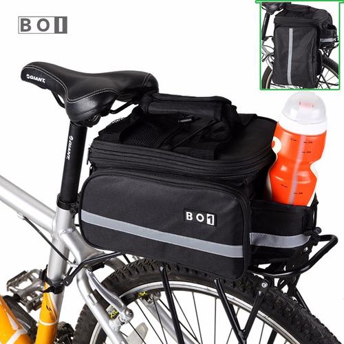 alforja bici bicicleta maleta maletín parrilla rack mtb 15lt