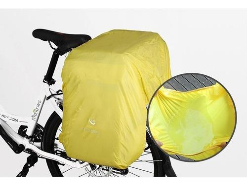 alforja bicicleta 60 litros (original) impermea + obsequio