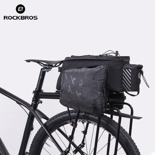 alforja bolso bicicleta impermeable rockbros 12 lts obsequio