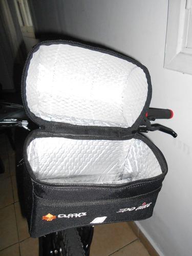 alforja bolso delantero termico para bicicleta