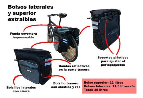 alforja bolso para bicicleta