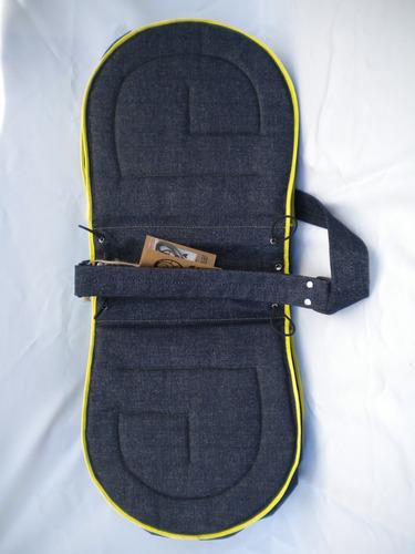 alforja doble - bolso varios diseños - mujer, hombre
