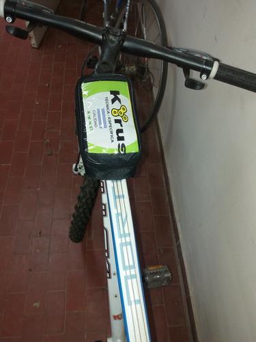 alforja porta celular bicicleta delantero touch screem