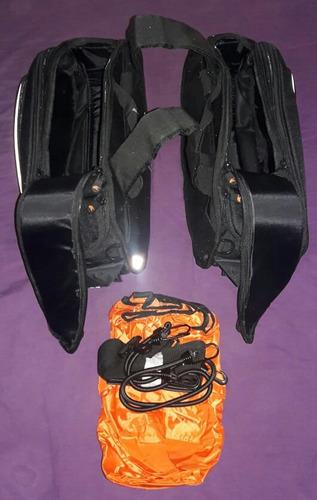 alforjas laterales expandibles kappa ra310  17 31 litros