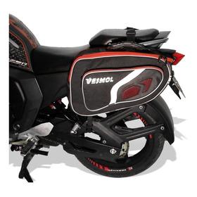 Alforjas Moto + Gratis Porta Herramientas, Maletas Moto