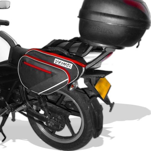 alforjas moto + gratis porta herramientas, vesmol