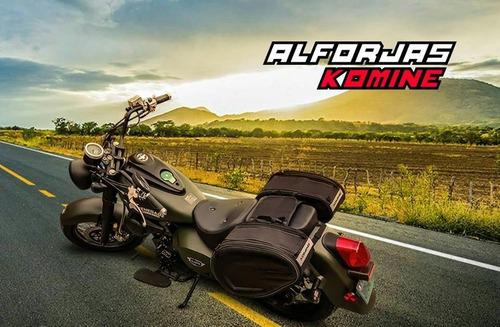 alforjas moto impermeables solidas espaciosas
