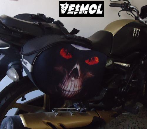 alforjas moto maleta moto bolso moto