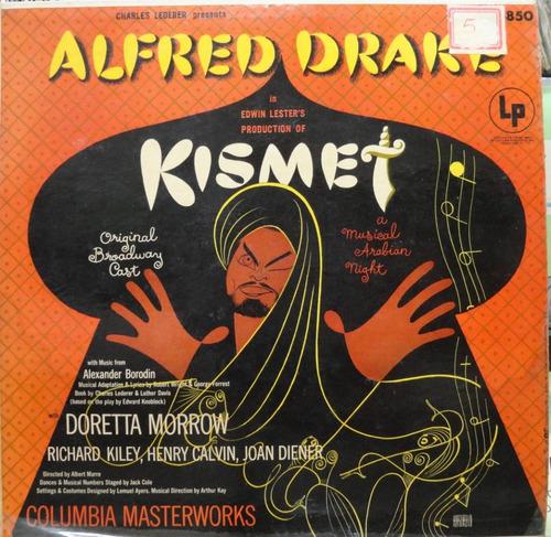 alfred drake kismet original broadway cast columbia ml-4850