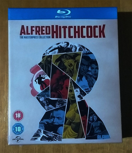 alfred hitchcock the masterpiece collection box 14dvd bluray