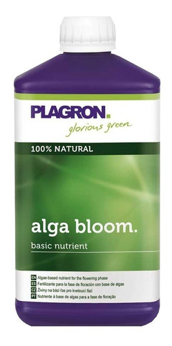 alga bloom 500ml plagron fetilizante floracion estimulador